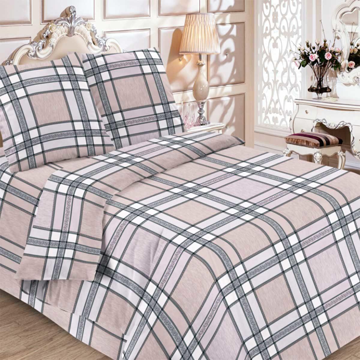 """Комплект постельного белья """"Шотландка"""" 1"""