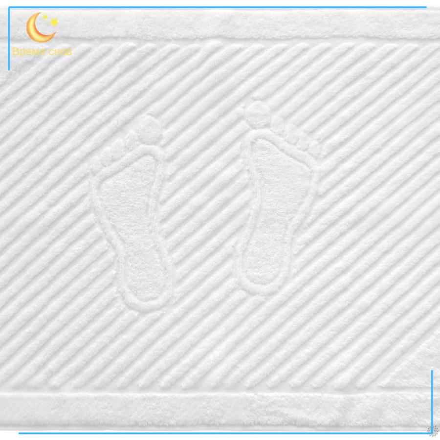 Коврик для ног махровый 450гр. (цвет в асс.) /БТ 2